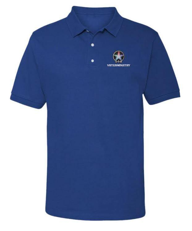 VETS2INDUSTRY - Custom - Men's Polo