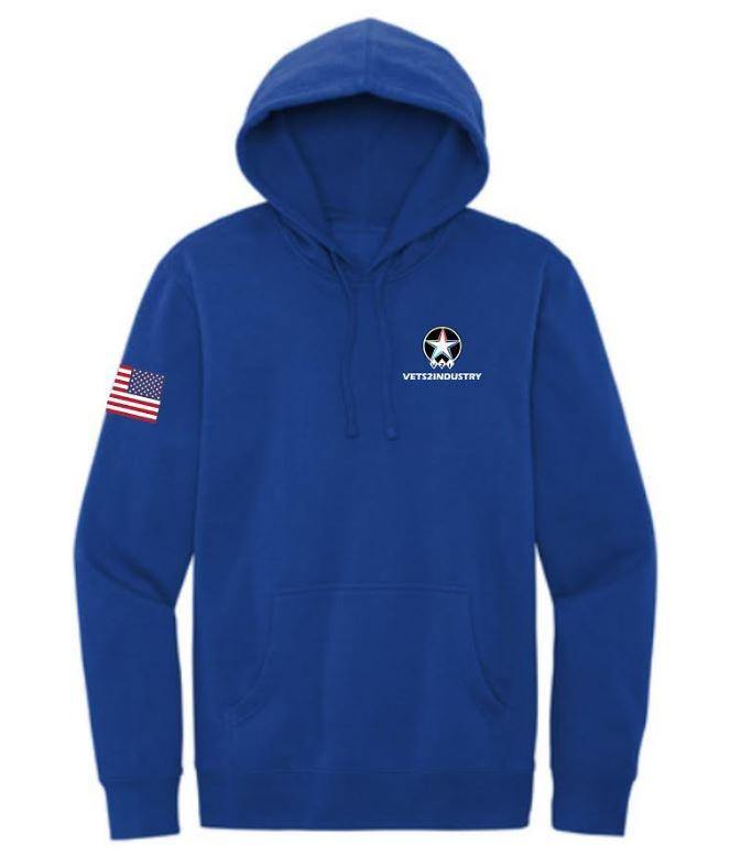 VETS2INDUSTRY - Custom - UNISEX Hoodies