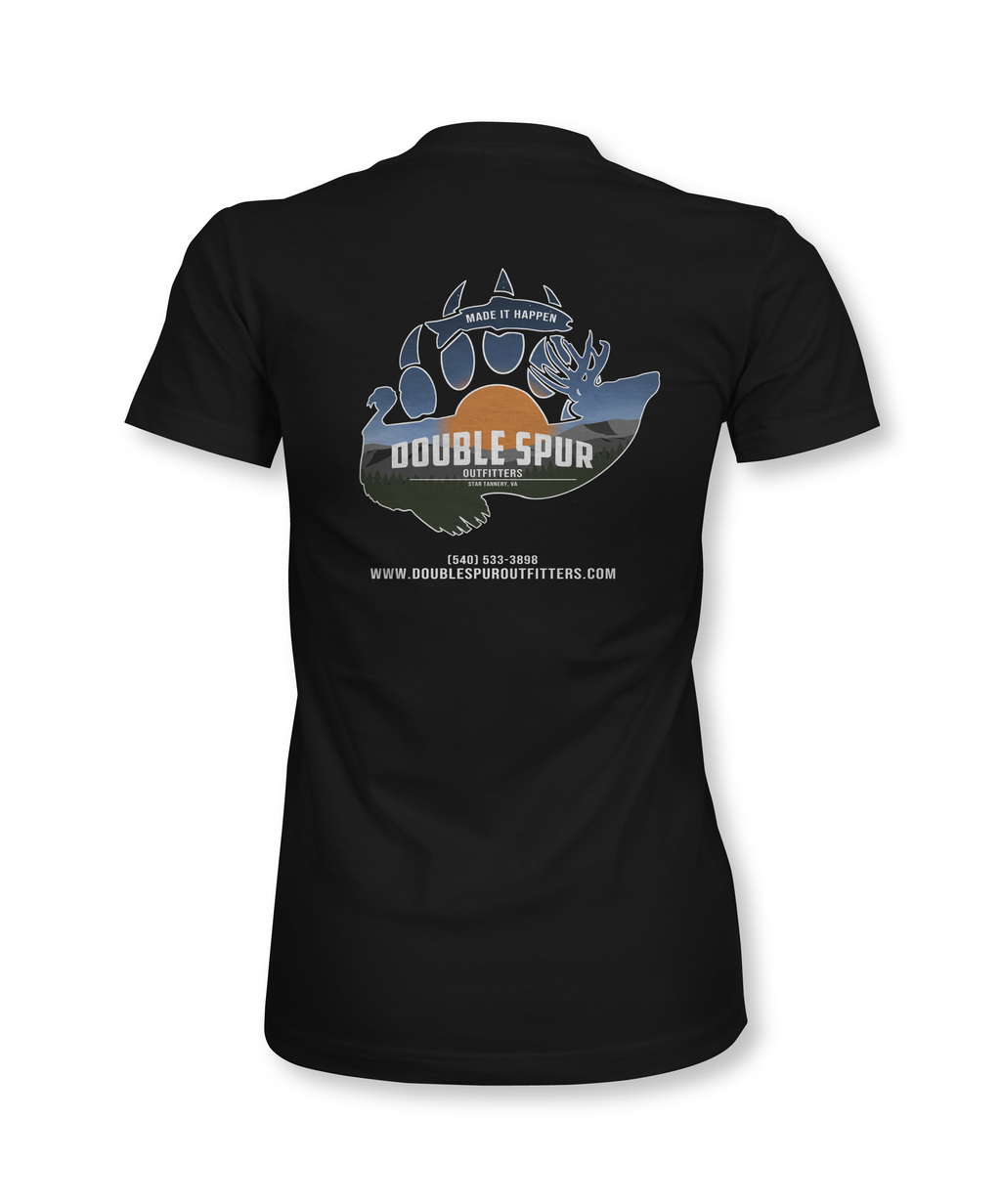 Double Spur Outfitters - Custom - Women's Shirt - Proper Patriot