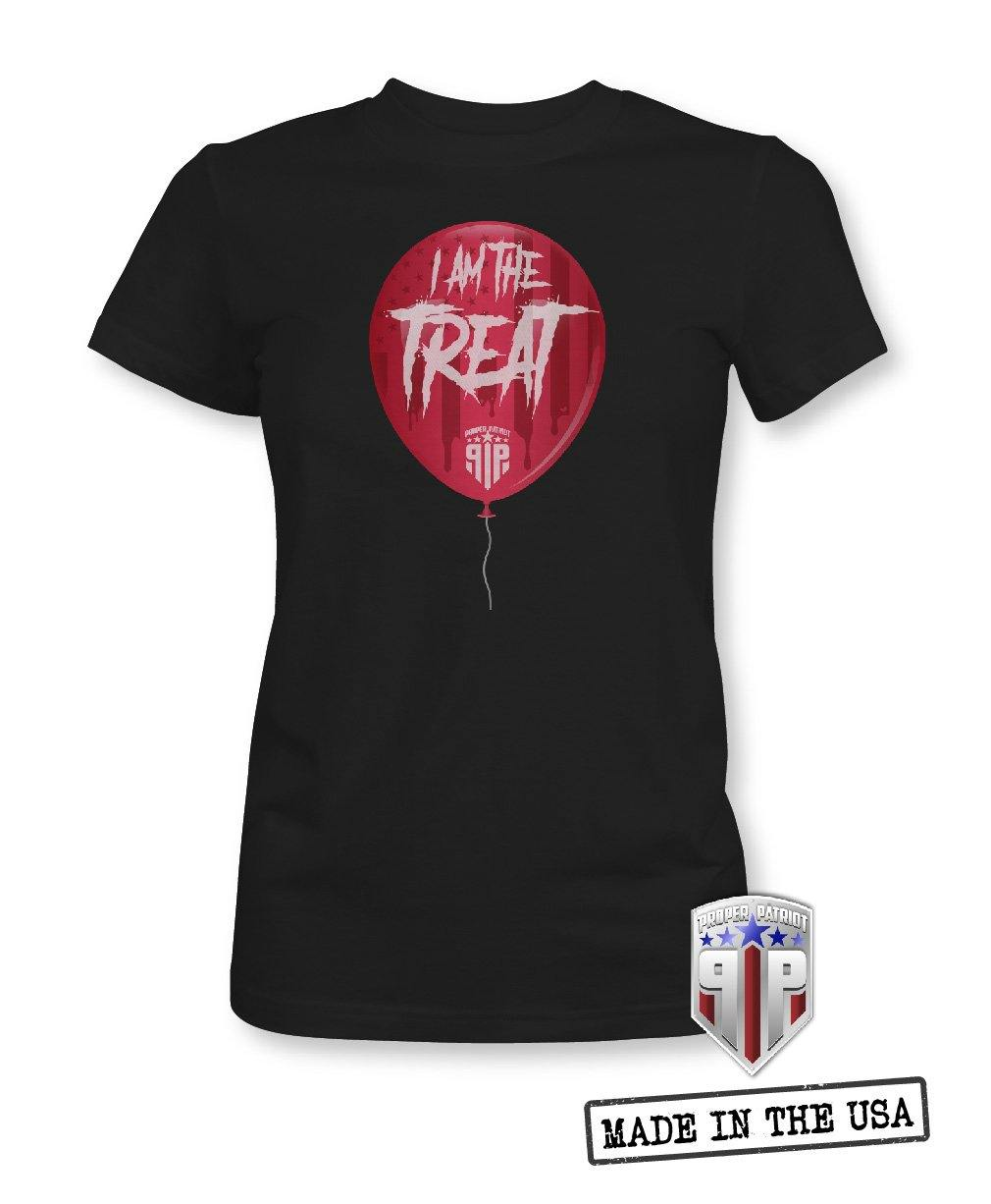 Stephen King's Pennywise IT Red Balloon - Spooky Halloween Apparel - Women's Patriotic Shirts