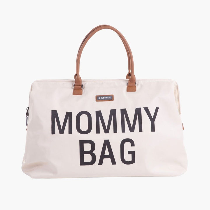 Mommy Bag Ecru & Noir