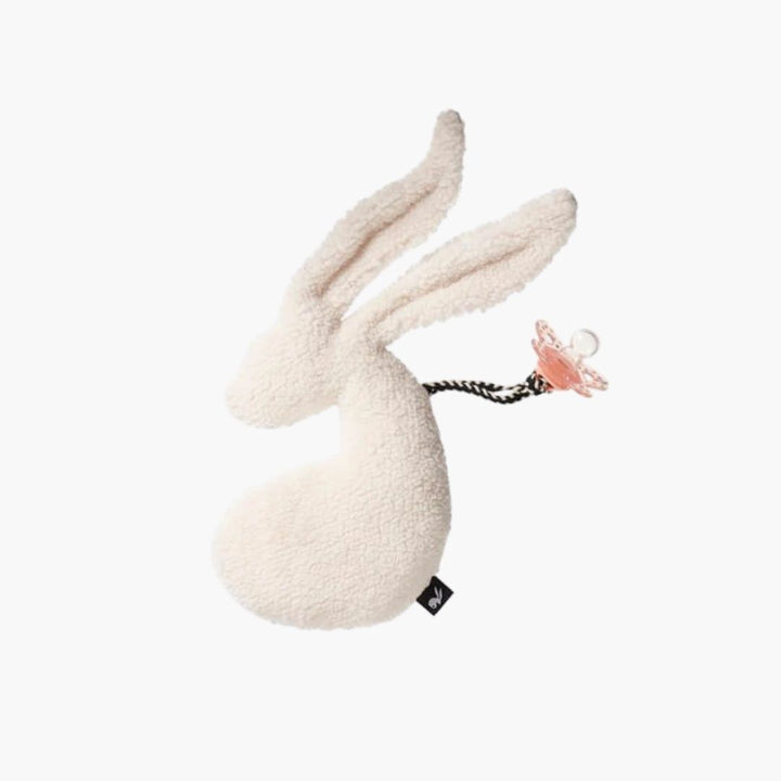 Attache Tétine Bunny Offwhite