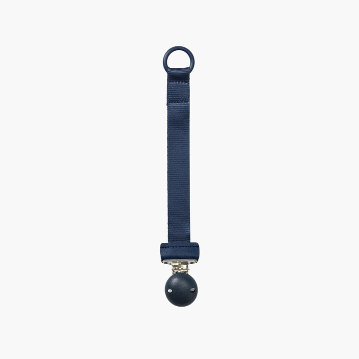 Attache Tétine Bois Juniper Blue