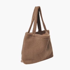 Mom Bag Chunky Teddy Brown