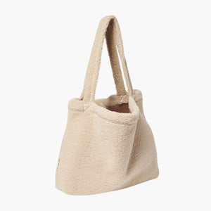 Mom Bag Chunky Teddy Ecru