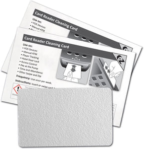Mag Reader Cleaning Card (Pack of 10)