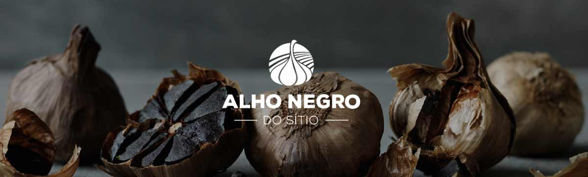 Alho negro do sítio