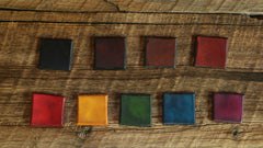 Leather Dye Colors in Shade