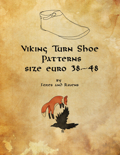Viking Ankle Turn Shoe Pattern