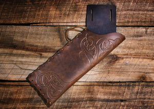 Custom Tooled Archery Belt Quiver