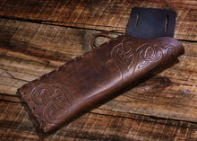 Load image into Gallery viewer, Custom Tooled Archery Belt Quiver