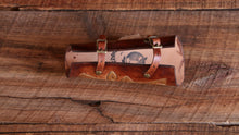 Load image into Gallery viewer, Custom Painted and Tooled Bracers