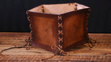 Load image into Gallery viewer, Briar Rose Leather Corset