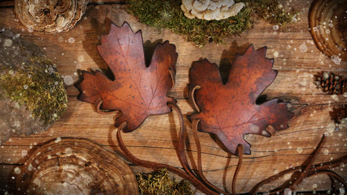 Maple Leaf Cuff