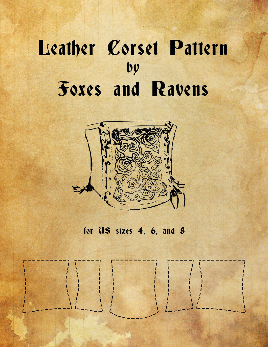 Leather Corset Pattern