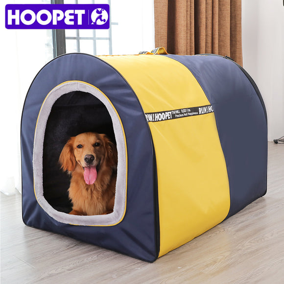 HOOPET Dog House For Large Dogs Tent Outdoor Supplies High Quality Dog Cat Bed Puppy House Pet Product