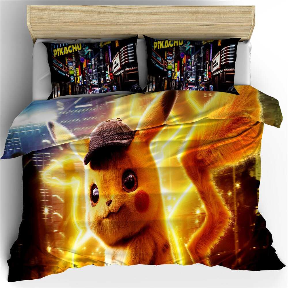 pokemon switch game bedding