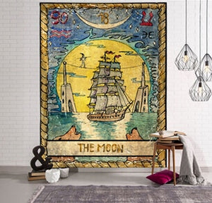 Indian Tapestry  Wall Hanging Decor Sandy Beach Throw Rug Blanket Camping Tent Travel Mattress Bohemian Sleeping Pad Tapestry