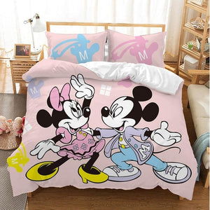 Disney Cartoon Mickey Minnie
