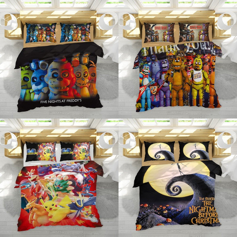 2019 hot sale five night game duvet