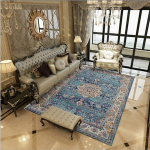 Persian Style Carpet Living Room Home Decor Bedroom Rug Vintage Sofa Coffee Table Floor Mat Classic Study Room Rugs And Carpets