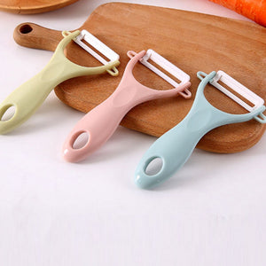 1pc Ceramic Vegetable Fruit Peeler