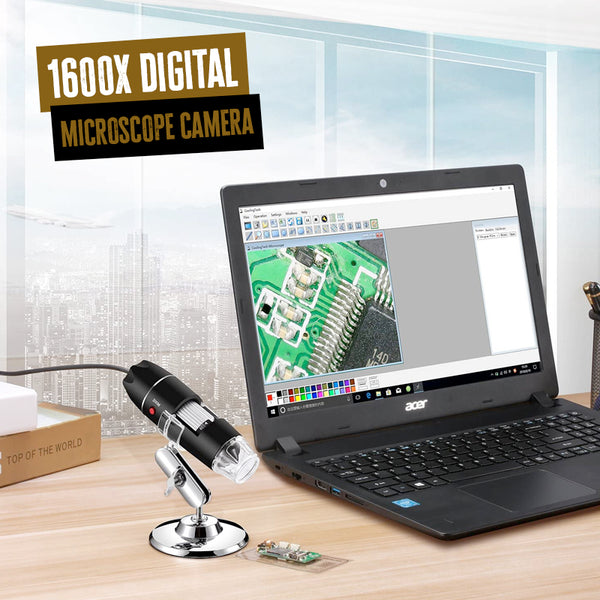 1600x USB Microscope / Digital Microscope Camera - ShopppyBay.com