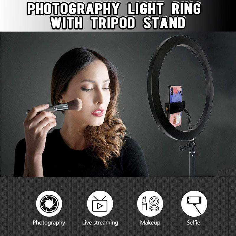 LED Ring Light with Stand - Shoppybay.com