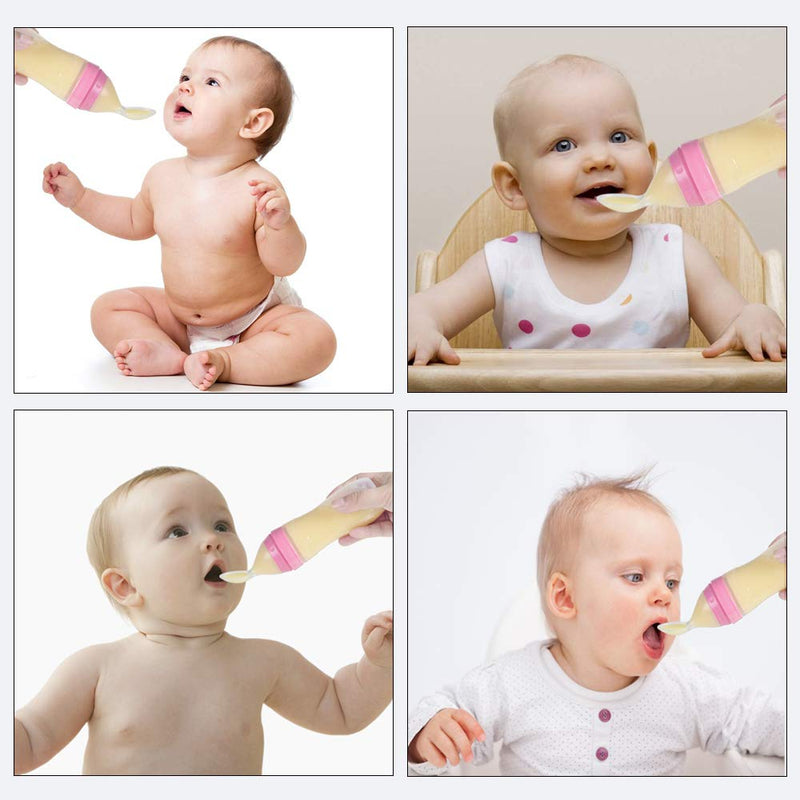 Baby Feeder with Dispensing Spoon - Shoppybay.com