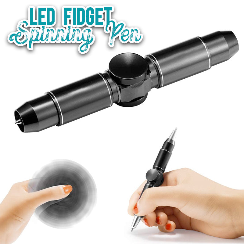 LED Fidget Spinning Pen - ShoppyBay.com
