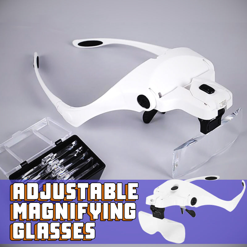 Adjustable Magnifying Glasses - ShoppyBay.com