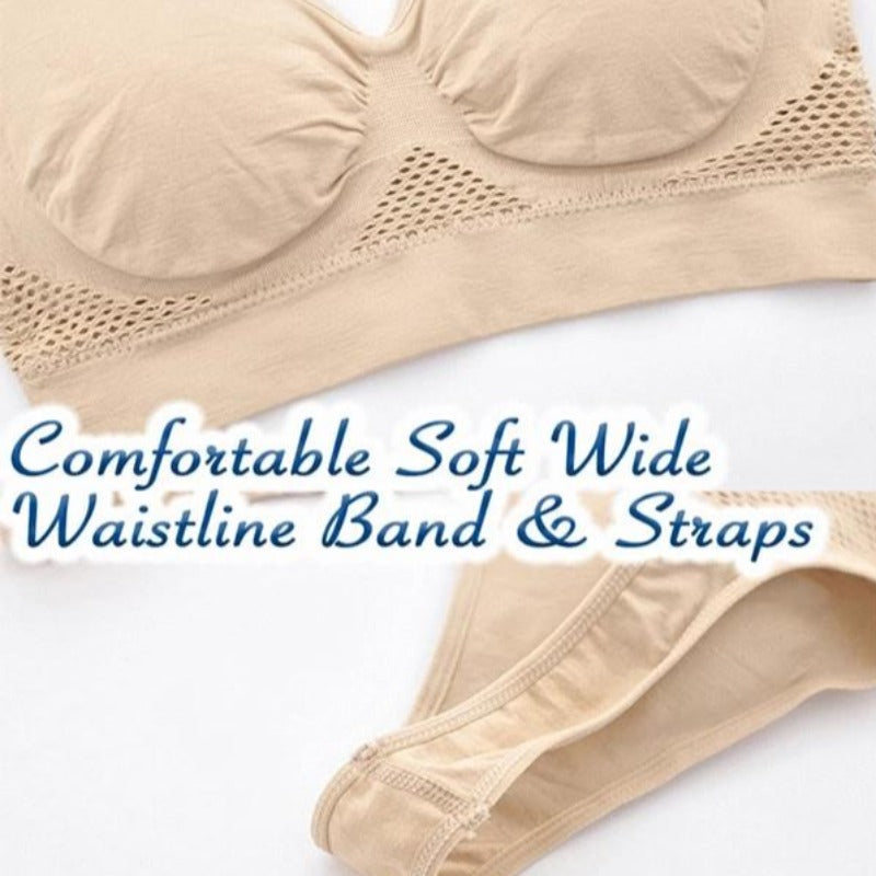 Seamless Wireless Lift Bra Posture Corrector - Shoppybay.com