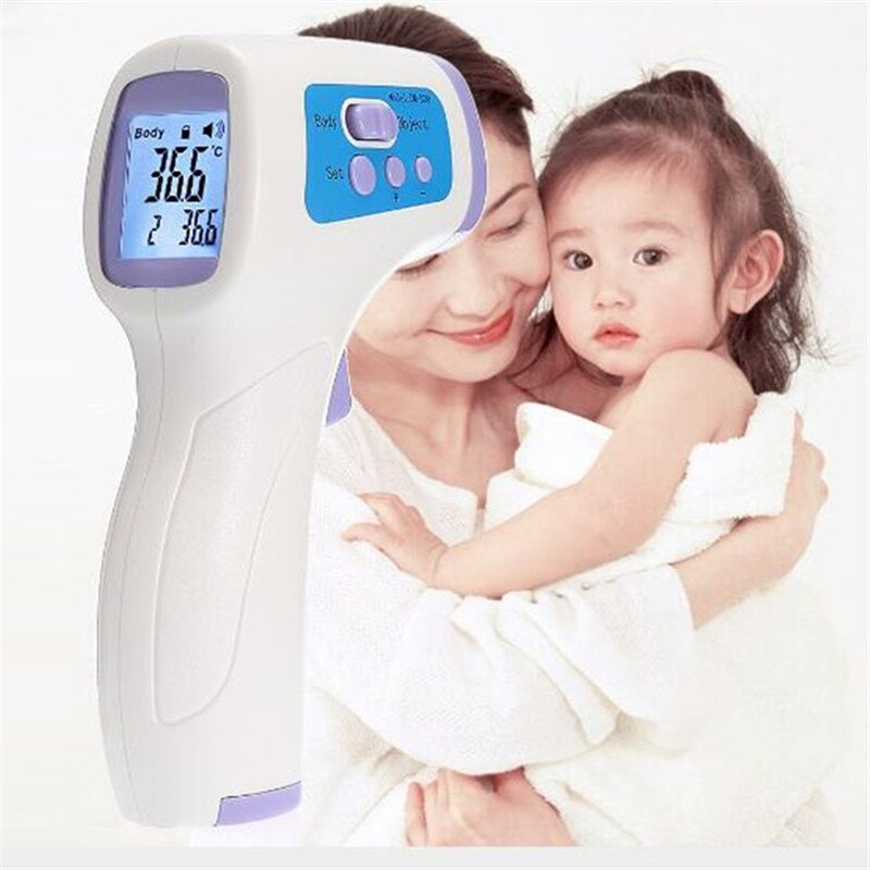 No Contact Infrared Thermometer For Instant Measuring Temperatures - shoppybay.com