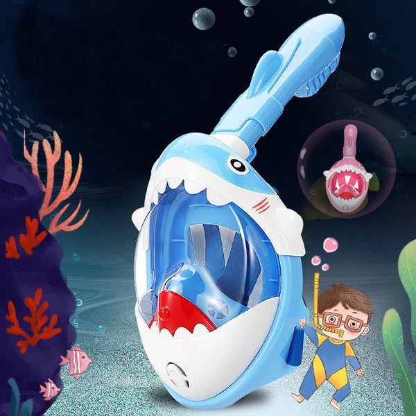 Full Face Snorkel Mask for Kids - ShoppyBay.com