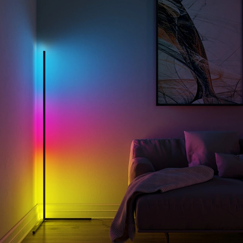 LED Minimal Vibrancy Corner Lamp - ShoppyBay.com