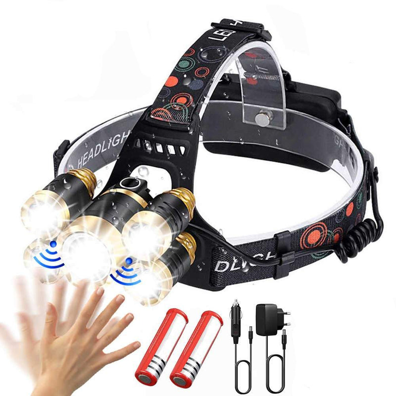 Sensor LED Fishing Headlamp - ShoppyBay.com