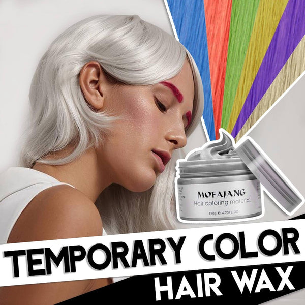 Temporary Hair Color Wax 7 Colors - Shoppybay.com