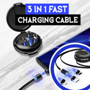 3 in 1 Fast Charging Cable - ShoppyBay.com