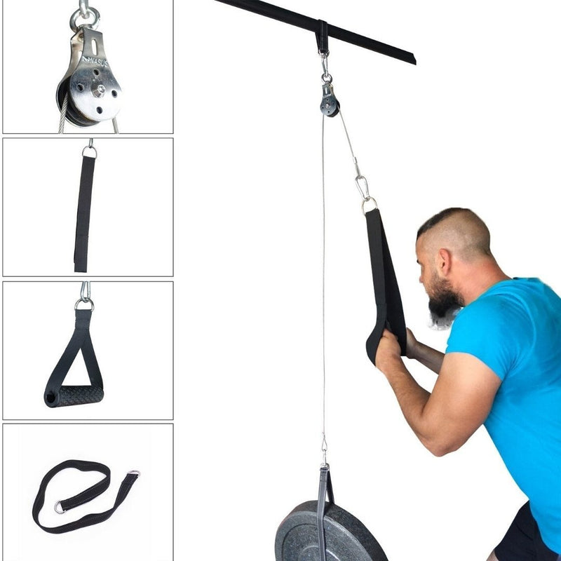 POWERPULL - HOME GYM PULLEY CABLE