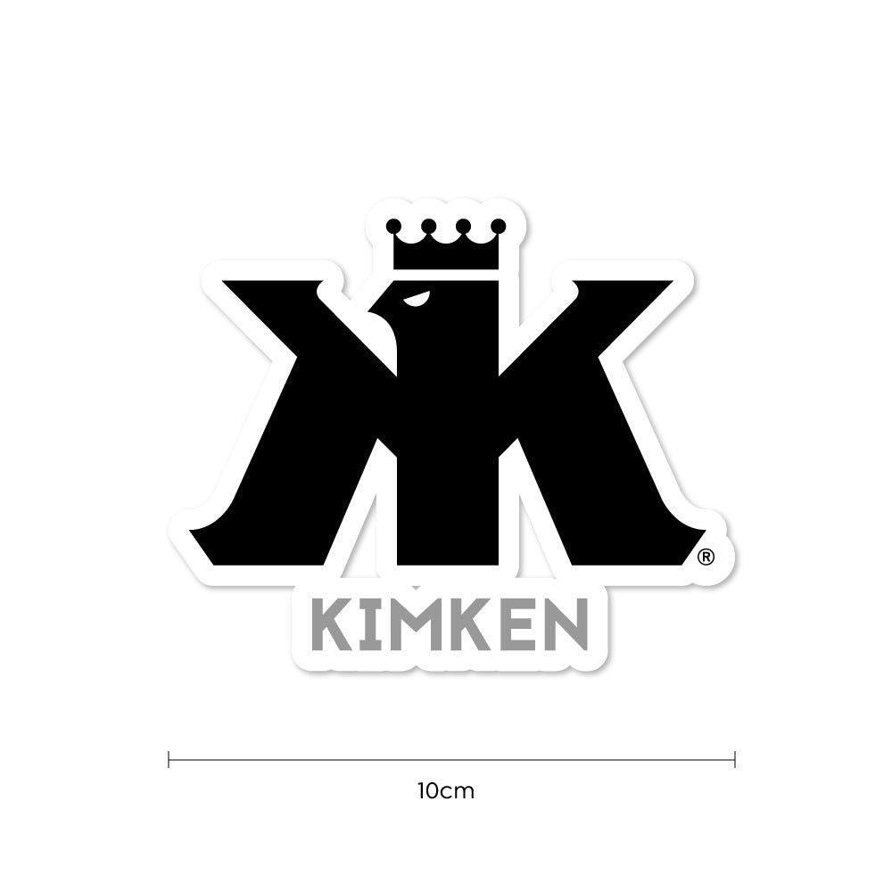KIMKEN® Sticker【BLACK】