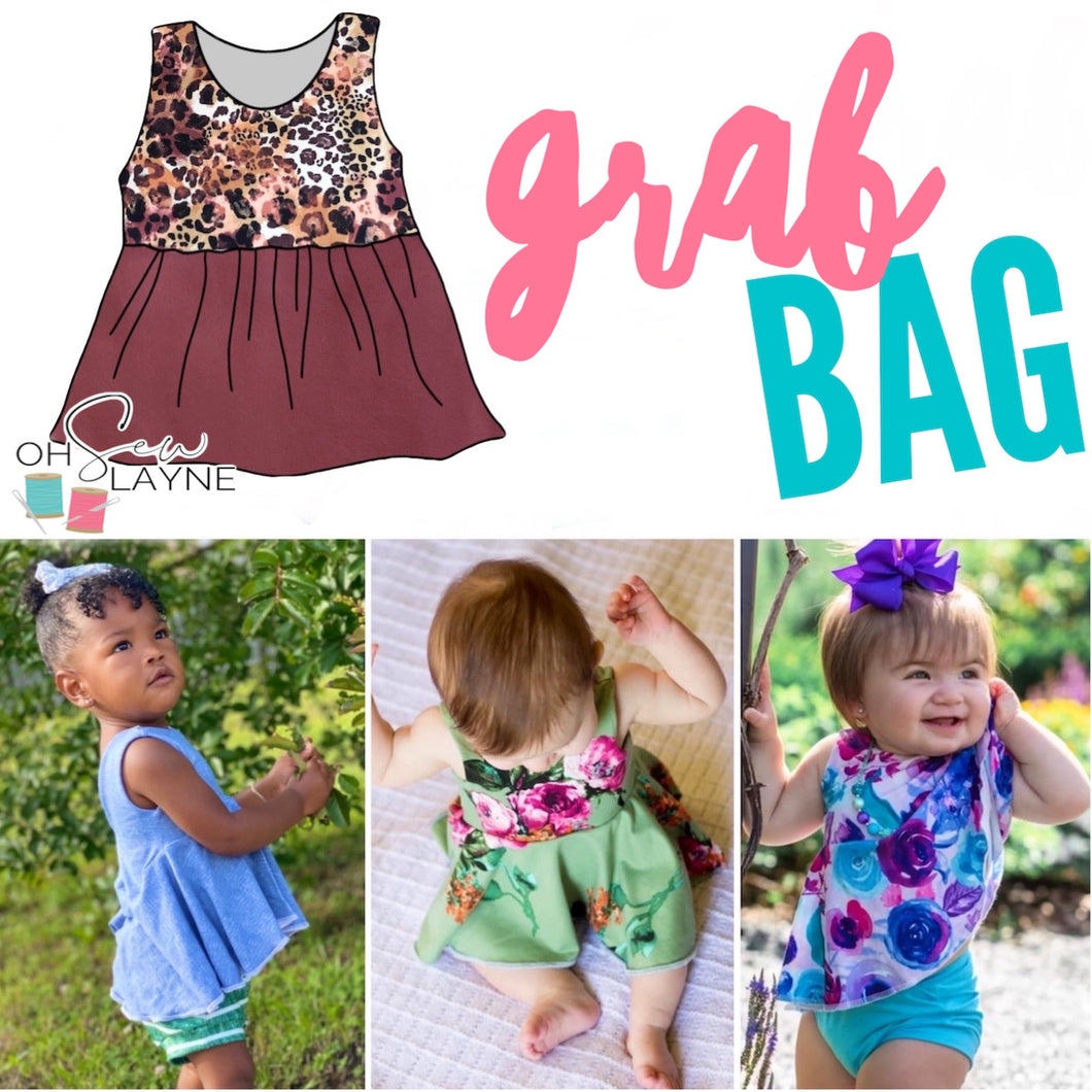 Surprise Peplum Bag