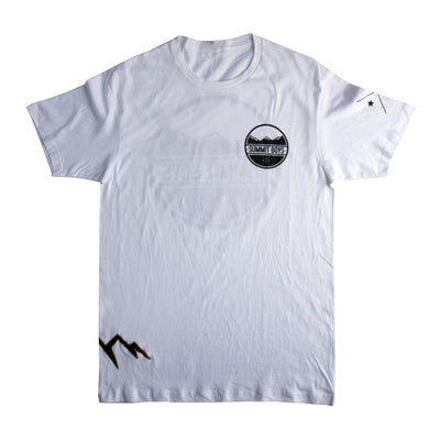 Summit Boys Stamp T-Shirt (Grey and Black)