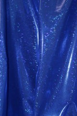 Royal Blue Hologram Spandex