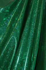 Emerald Green Shattered Glass Spandex