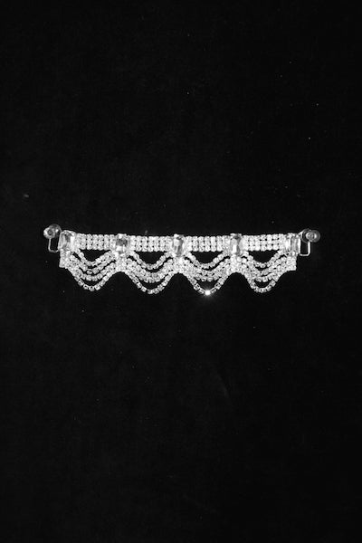 Rhinestone Hanging Waves Connector
