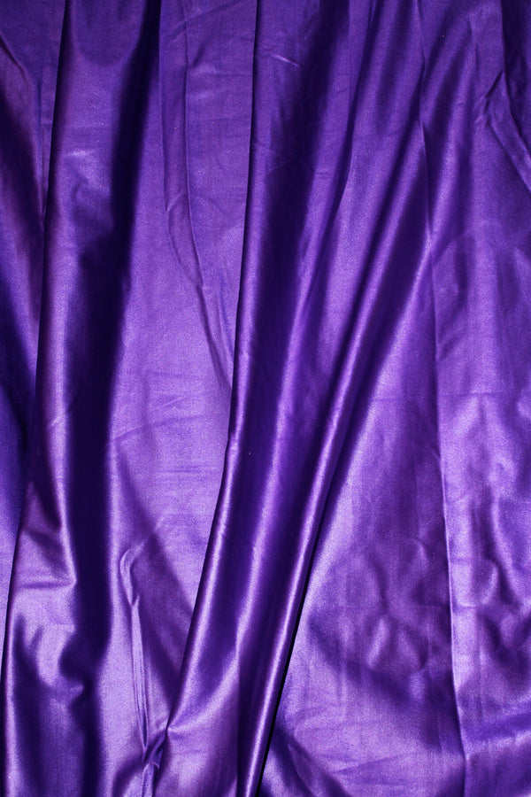 Royal Purple Metallic Spandex