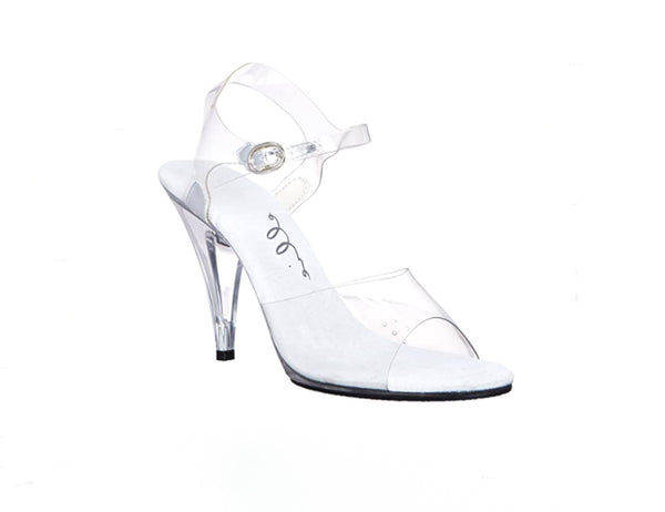 "405-Brook Clear Sandal 4"" Heel"