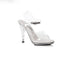 "421-Brook Clear Sandal 4.5"" Heel"