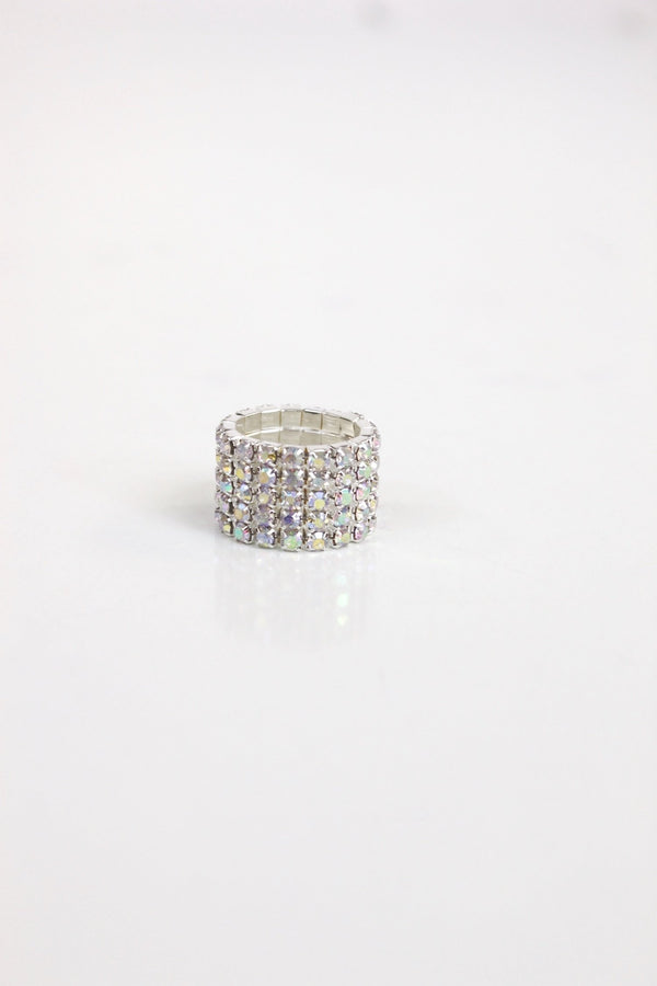 Crystal Stretch Ring
