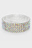 5-Row Stretchable Rhinestone Bracelet (AB)